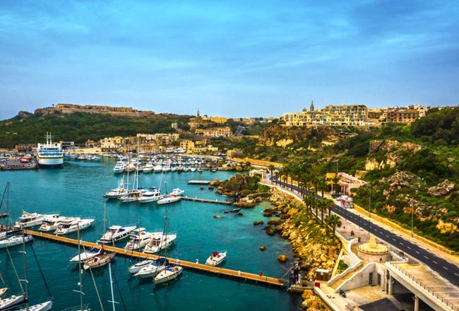 Gozo - Mgarr Harbour