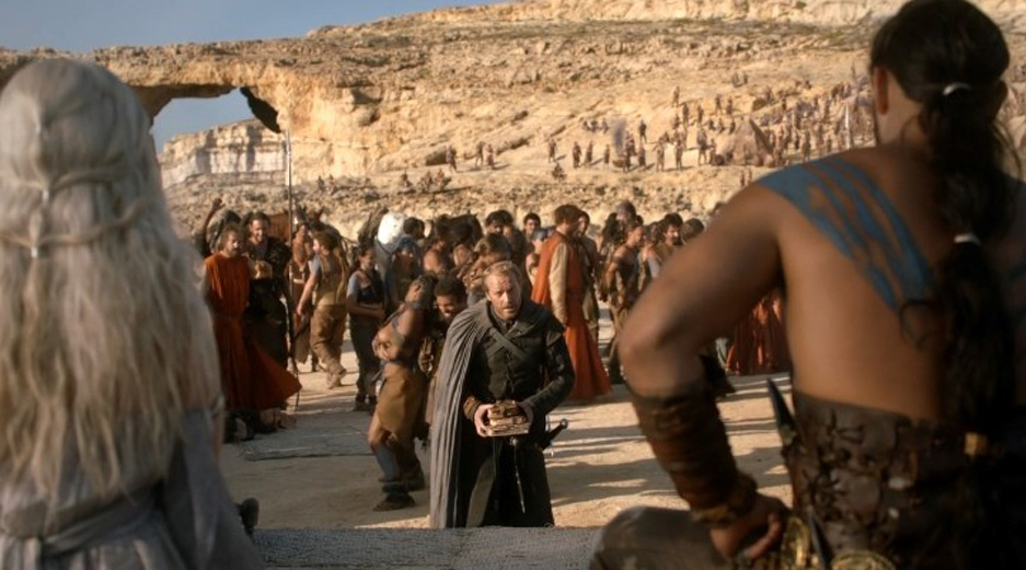Films made in Malta - Game of Thrones