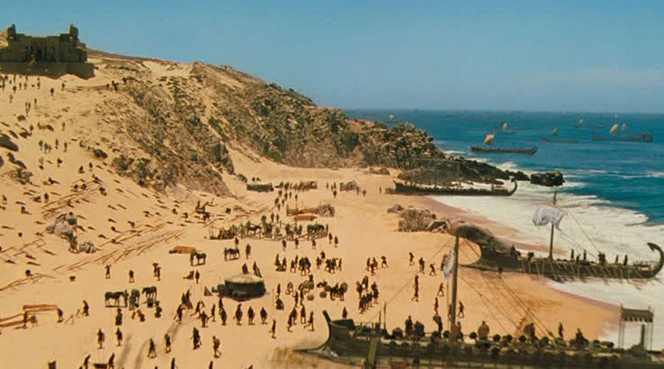 Films Made in Malta - Troy